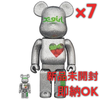 メディコムトイ(MEDICOM TOY)の【7体分】BE@RBRICK X-girl × YURINO(E-girls)(その他)