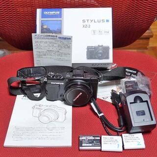 OLYMPUS - OLYMPUS STYLUS XZ-2 元箱取説一式付き美品 送料込み1.5万円