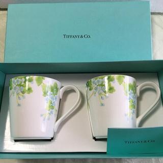 Tiffany & Co. - Tiffany&Co.リーフマグカップ ペア