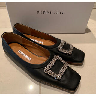 Pippi - pippichic ジュエルフラットパンプス 36
