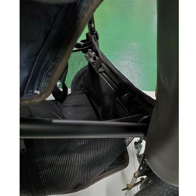 AIRBUGGY(エアバギー)のエアバギー デニム ホームクリーニング済 キッズ/ベビー/マタニティの外出/移動用品(ベビーカー/バギー)の商品写真