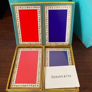 ティファニー(Tiffany & Co.)の新品未使用ティファニートランプ(トランプ/UNO)