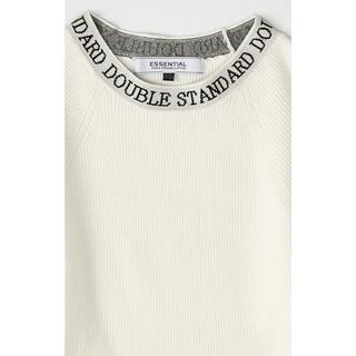 ダブルスタンダードクロージング(DOUBLE STANDARD CLOTHING)の未使用❤︎ダブルスタンダード ESSENTIAL / リブニット(ニット/セーター)