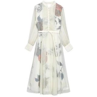 Ameri VINTAGE - 完売品 ameri ELLA VEIL DRESS 希少 Sサイズ ホワイト