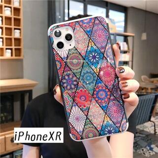 SALE!iPhoneXR エスニック② カバー ケース(iPhoneケース)