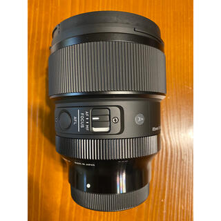 SIGMA - sigma 85mm f1.4 dg dn Art Eマウント ほぼ新品