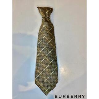 BURBERRY - 【美品】Burberry London ネクタイ メンズ ゴールド