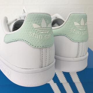 adidas - 【定価13200円】adidas スタンスミス スネークスキン ミント 24cm