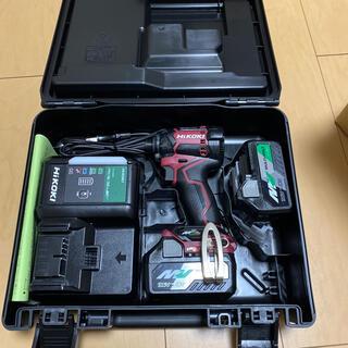 ヒタチ(日立)のHikoki日立 コードレスインパクトドライバ WH36DC 2XPR レッド(工具)