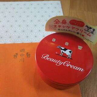 牛乳石鹸 - 牛乳石鹸 赤箱 カウブランド ビューティクリーム 赤缶 ボディクリーム 限定