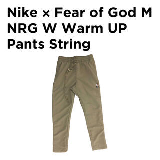 フィアオブゴッド(FEAR OF GOD)のXLサイズ NIKE FEAR OF GOD WARM UP PANTS(ワークパンツ/カーゴパンツ)