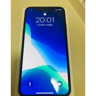 iPhone - 【美品】IPhoneX 64G ホワイト SIMフリー