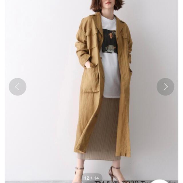 apart by lowrys(アパートバイローリーズ)のシアーホソプリーツスカート レディースのスカート(ロングスカート)の商品写真
