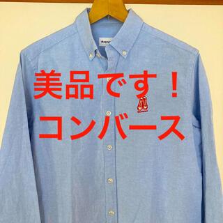 CONVERSE - 美品です!希少オールスターロゴ!コンバース オックスフォード シャツ
