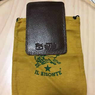 イルビゾンテ(IL BISONTE)のIL BISONTE  パスケース (名刺入れ/定期入れ)