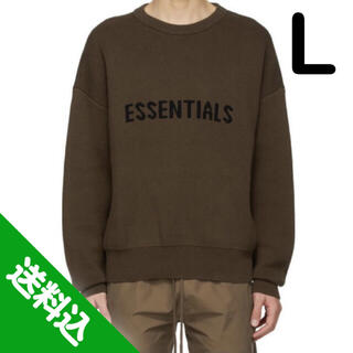 FEAR OF GOD - 【L】Essentials Exclusive Logo Sweater