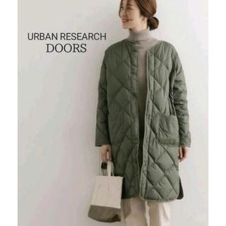 DOORS / URBAN RESEARCH - URBAN RESEARCH DOORS ノーカラーダウンキルトコート