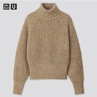UNIQLO - ユニクロ ローゲージタートルネックセーター