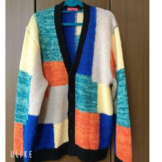 Supreme - Supreme 2019SS Patchwork Mohair Cardigan