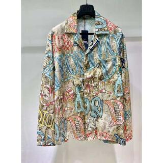 Dior - Dior   ポスターショープリント長袖シャツ