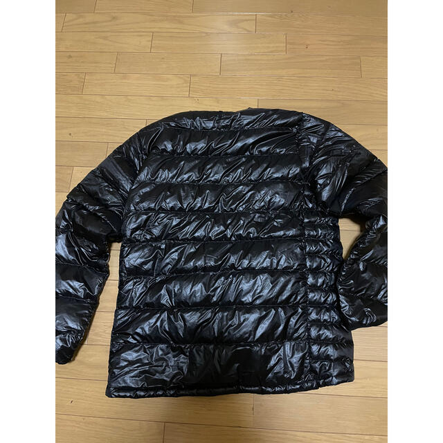 NANGA(ナンガ)のナンガ インナーダウンカーディガンデタッチャブルスリーブ 新品未使用 XLサイズ メンズのジャケット/アウター(ダウンジャケット)の商品写真