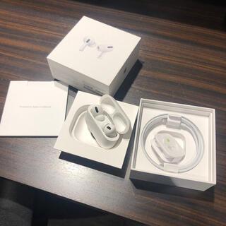 アップル(Apple)の正規品 AirPods Pro (ヘッドフォン/イヤフォン)