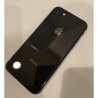 iPhone - iPhone8 64GB スペースグレイ SIMフリー