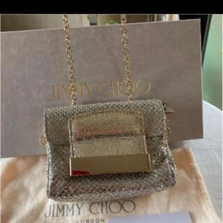 ジミーチュウ(JIMMY CHOO)のJIMMY CHOO♡ジミーチュウ キラキラグリッターチェーンミニバッグ(ショルダーバッグ)