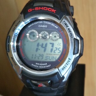 ジーショック(G-SHOCK)の訳有り CASIO G-SHOCK GW-500J 電波 ソーラー 腕時計(腕時計(デジタル))
