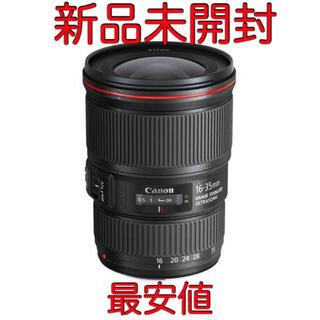 Canon - 新品未開封 Canon キヤノン EF16-35mm F4L IS USM