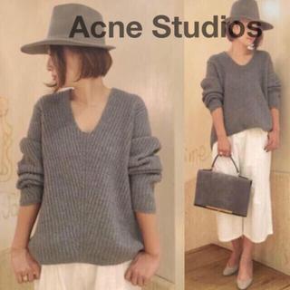 アクネ(ACNE)のAcne Studios アクネストゥディオズ デボラニット(ニット/セーター)