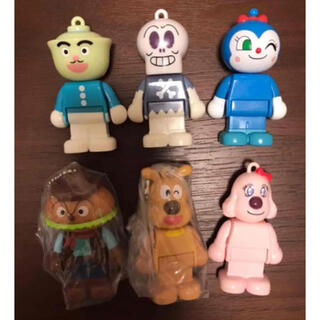 アンパンマン - アンパンマン ブロックラボ スイング ブロック ドール 人形 6点