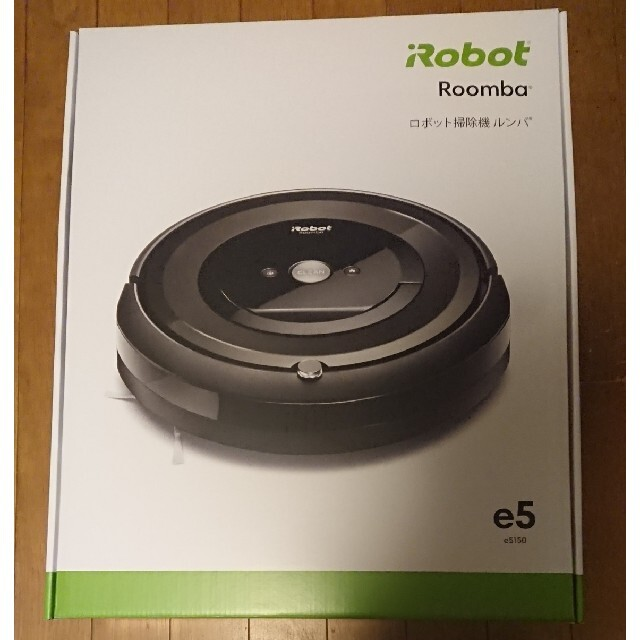 iRobot(アイロボット)のルンバe5 e515060(Roomba e5) 領収書付き スマホ/家電/カメラの生活家電(掃除機)の商品写真