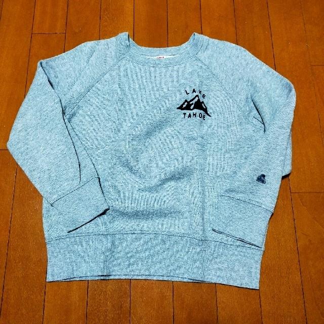 UNIQLO(ユニクロ)のスウェット(トレーナー)♡140 キッズ/ベビー/マタニティのキッズ服男の子用(90cm~)(Tシャツ/カットソー)の商品写真