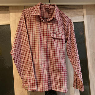 モンベル(mont bell)のmont-bell モンベル 登山シャツ レディース L(Tシャツ(長袖/七分))