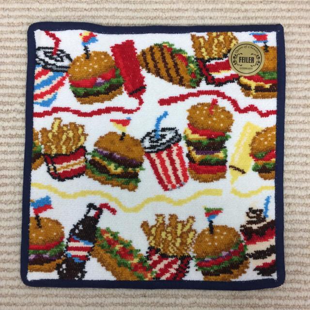 FEILER(フェイラー)の【新品】ハンバーガーショップ  フェイラー  廃盤  完売品 レディースのファッション小物(ハンカチ)の商品写真