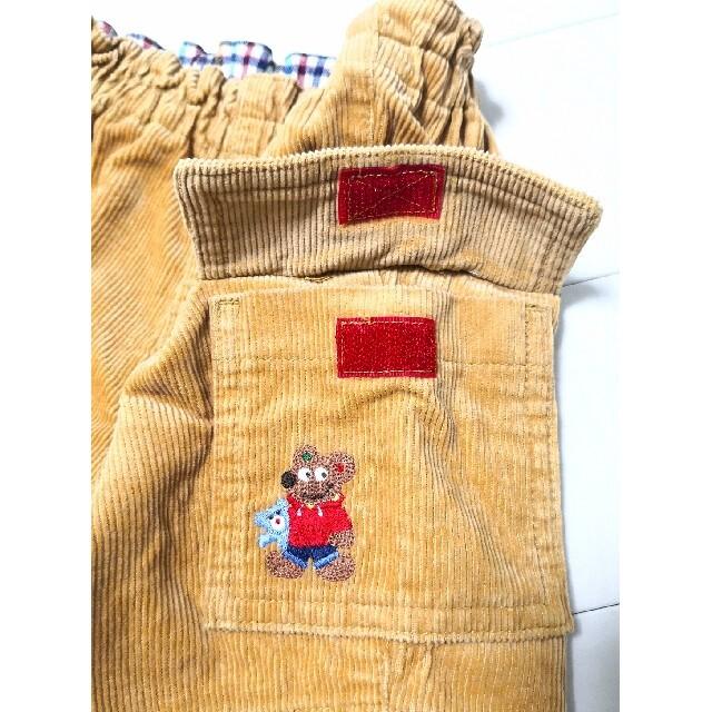 mikihouse(ミキハウス)のミキハウス レトロ コーデュロイ パンツ 80㎝ キッズ/ベビー/マタニティのベビー服(~85cm)(パンツ)の商品写真