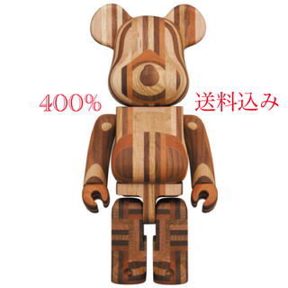 BE@RBRICK カリモク寄木400%(その他)