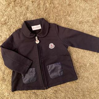 MONCLER - 美品モンクレール ベビー襟付きジップカーディガン アウター 9ヶ月〜12ヶ月