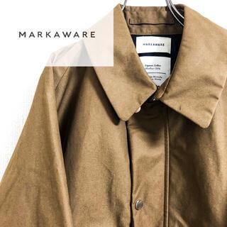 マーカウェア(MARKAWEAR)のmarkaware マーカ オーガニックコットン  ウェイファーラーコート 新品(その他)