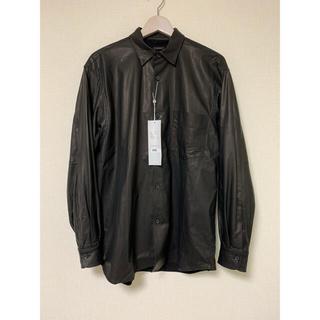 COMOLI - COMOLI レザーコモリシャツ size 2