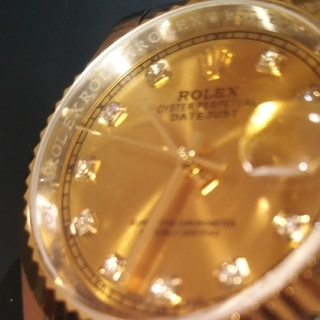 ROLEX - ROLEX DATEJUST 【ロレックス デイジャスト】 腕時計 カスタム品