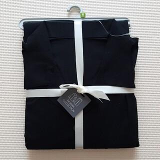 GU - 新品 gu メンズ M オープンカラーパジャマ ブラック