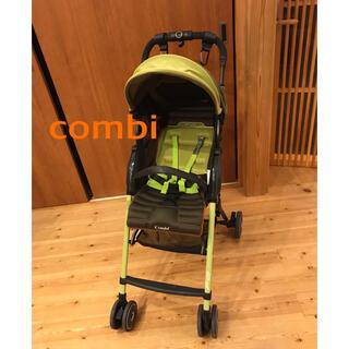 combi - (美品、軽量)combi ベビーカー F2 カーキ