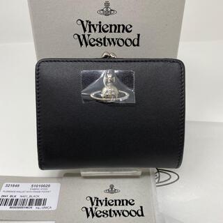 Vivienne Westwood - 新品☺︎Vivienne Westwood 二つ折り財布 オーブ ブラック 黒
