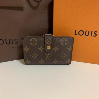 LOUIS VUITTON - 正規品 ルイヴィトン モノグラム ヴィエノワ 二つ折り がま口財布