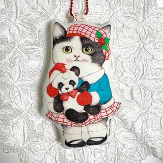 【パンダと一緒に 】チャーム オーナメント コヤンイサムチョン 猫(チャーム)