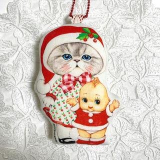 【ルミちゃん 】チャーム オーナメント コヤンイサムチョン 猫 クリスマス(チャーム)