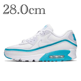NIKE - UNDEFEATED×NIKE AIR MAX 90 white / blue
