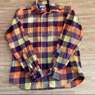 コロンビア(Columbia)のコロンビア チェックシャツ メンズ(シャツ)